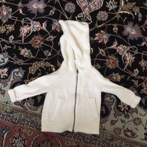 Sweater hoodie for toddler